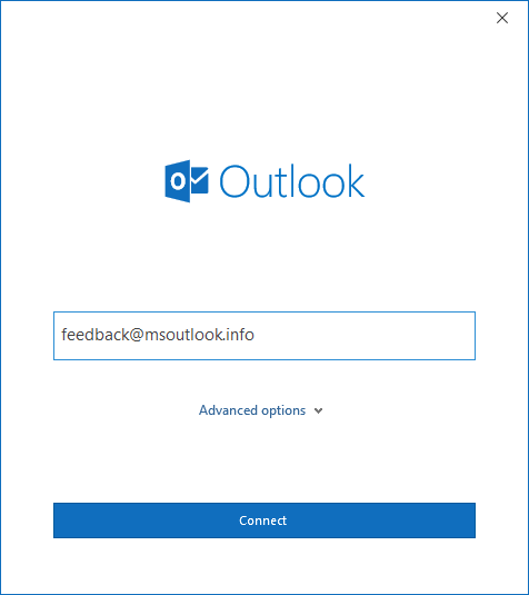 Outlook 2016 and Exchange support - MSOutlook info