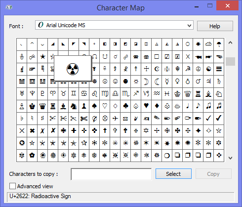 Create a striking subject with symbol characters MSOutlookinfo