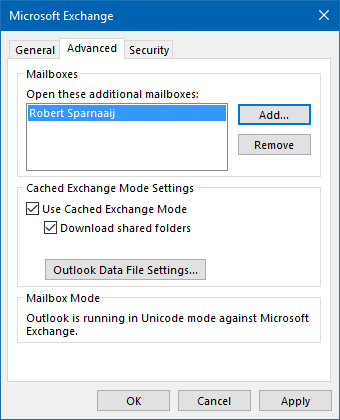 Access or share non-default Outlook folders - MSOutlook info