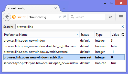 Via the about:config screen you can force Firefox to open all pop-ups in a new tab.