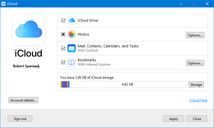 Outlook and Two-Step Verification for iCloud - MSOutlook info
