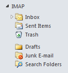 After - Configure a root path if your IMAP folder structure falls under the Inbox folder.