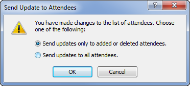 Send updates only to added or deleted attendees.