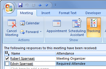 Adding Attendees And Sending Reminders Msoutlook Info