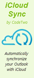 CodeTwo iCloud Sync  - Automatically synchronize your Outlook with iCloud