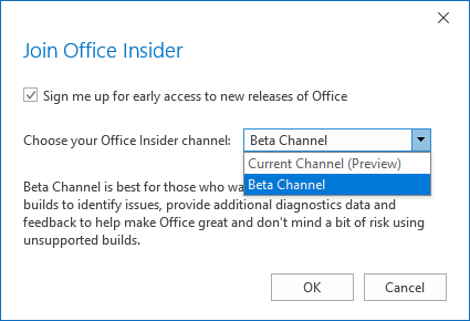 Why am I not getting the latest updates for Office 365, Outlook 2019