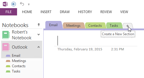 Default template for Outlook items sent to OneNote - MSOutlook.info