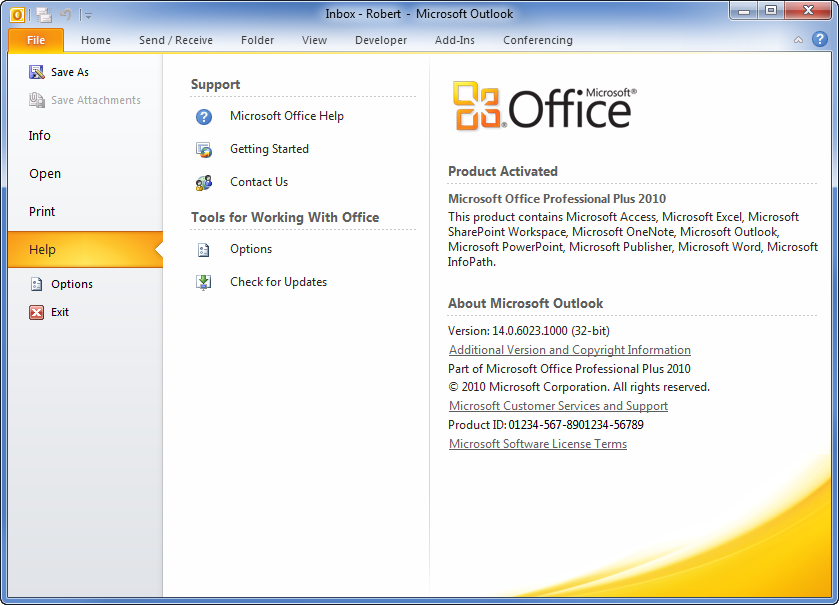 ms office 2016 latest version number