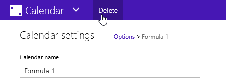 Deleting Calendars from Outlook com - MSOutlook info