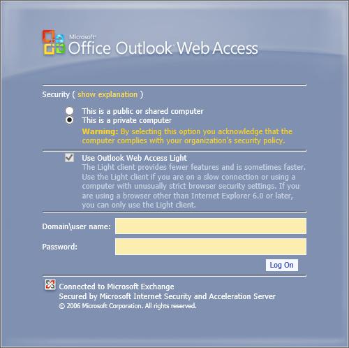 Internet Explorer 11 Only Loads Owa Light Msoutlookinfo