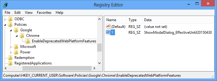 OWA in Chrome 37 and later could temporarily be fixed with a Registry key.