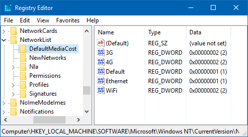 Metered Network Warning And Outlook Not Connecting Automatically