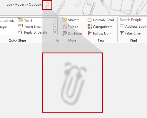 Clippy is quite cleverly hidden in the School Supplies background of Office 2013.