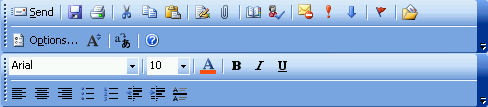 Toolbar commands overflowing in editing mode.
