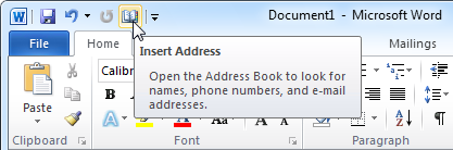 how to insert a pdf into outlook 2010