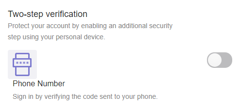 "When the ""ball"" is on the left, Two-Step Verification is still disabled for your Yahoo account."